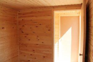 Аренда деревянной бытовки