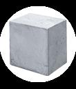 Комплект фундаментных блоков — 6 шт. с установкой