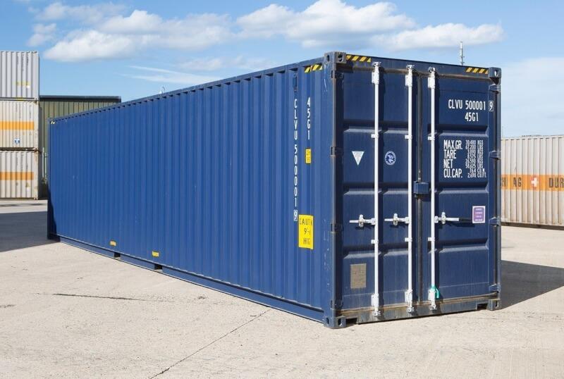 Аренда морских блок контейнеров